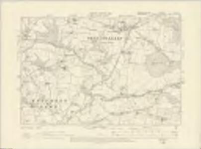 Worcestershire XII.SE - OS Six-Inch Map