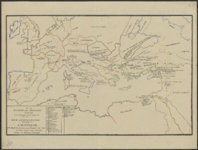 [Hierographie, oder topographisch-synchronistische Darstellung der Geschichte der christlichen Kirche] : V. Von Constantin bis auf Gregor d. G. J. 325-604