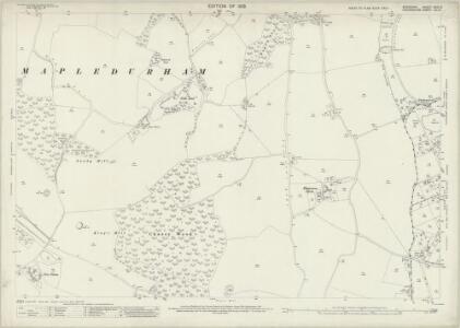 Berkshire XXIX.10 (includes: Kidmore End; Mapledurham; Reading) - 25 Inch Map