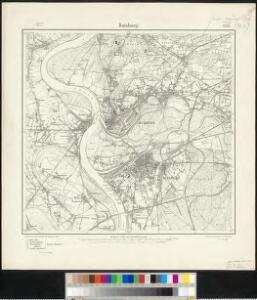 Messtischblatt 2574 : Duisburg, 1904 Duisburg