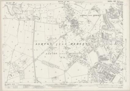 Cheshire IX.10 (includes: Carrington; Sale; Urmston) - 25 Inch Map
