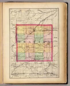 (Map of Gratiot County, Michigan)