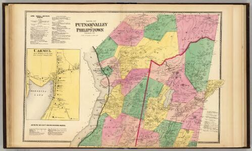 Putnam Valley, Philipstown, Towns.