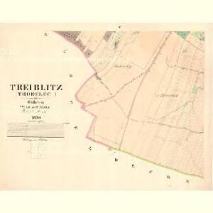 Treiblitz (Trobelec) - m3137-1-004 - Kaiserpflichtexemplar der Landkarten des stabilen Katasters