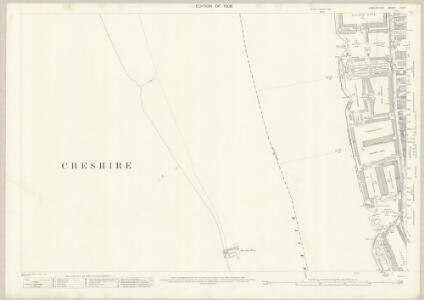 Lancashire CVI.9 (includes: Liverpool; Wallasey) - 25 Inch Map