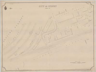 City of Sydney, Sheet W3, 1888