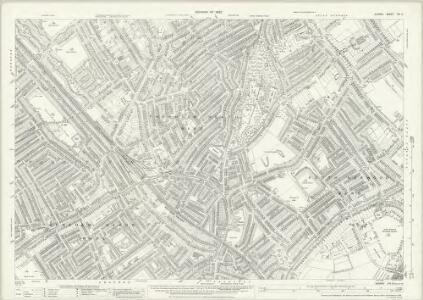Surrey XIV.2 (includes: Croydon St John The Baptist) - 25 Inch Map
