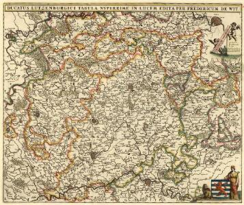Ducatus Lutzenburgici Tabula Nvperrime in Lucem