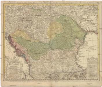 HUNGARIAE ampliori significatu et veteris vel Methodicae, complexae REGNA