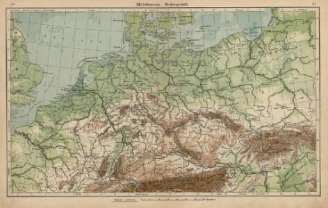 Mitteleuropa. Bodengestalt