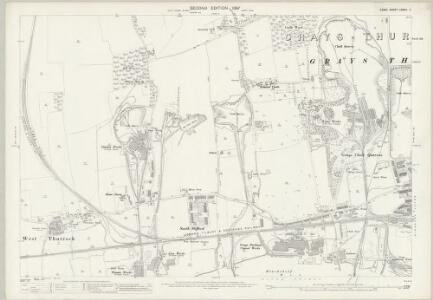 Essex (1st Ed/Rev 1862-96) LXXXIII.11 (includes: Thurrock) - 25 Inch Map