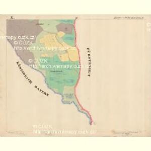 Buchwald - c0626-1-015 - Kaiserpflichtexemplar der Landkarten des stabilen Katasters