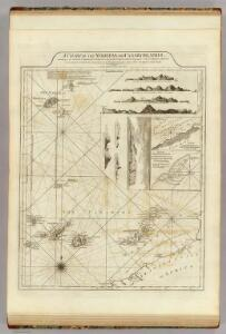 A chart of the Maderas and Canary Islands.