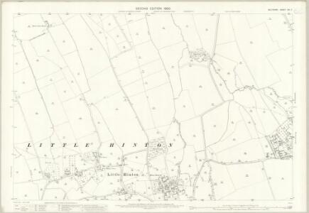 Wiltshire XVI.7 (includes: Bishopstone; Wanborough) - 25 Inch Map