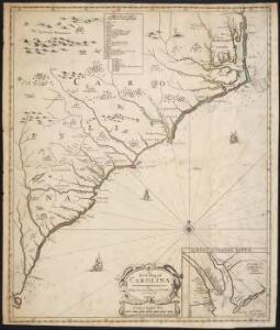 A new map of Carolina