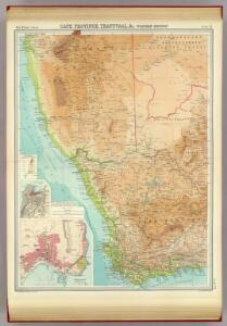 Cape Province, Transvaal, &c. - western section.