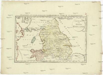 Postkarte von Nord England