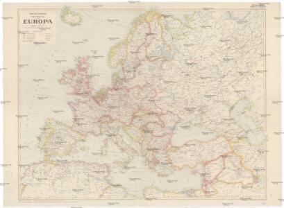 Freytag und Berndts Handkarte von Europa