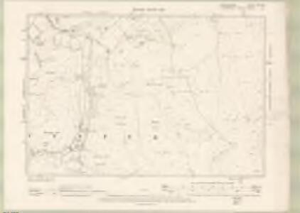 Peebles-shire Sheet XV.SW - OS 6 Inch map