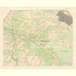 Wigantitz (Wigantitz) - m3399-1-002 - Kaiserpflichtexemplar der Landkarten des stabilen Katasters