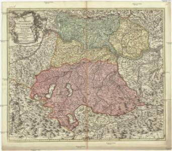 Archiducatus Austriae superioris in suas quadrantes ditiones exacte divisi accuratissima tabula