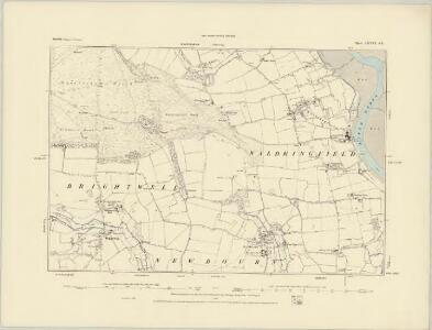 Suffolk LXXIII.NE - OS Six-Inch Map