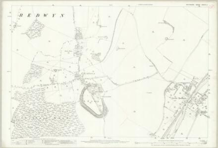 Wiltshire XXXVII.1 (includes: Great Bedwyn; Little Bedwyn) - 25 Inch Map