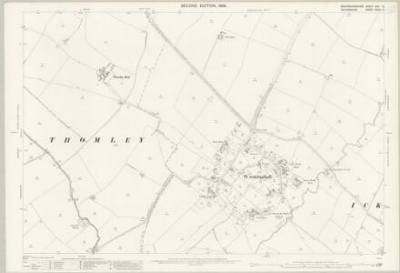 Buckinghamshire XXXI.12 (includes: Thomley; Worminghall) - 25 Inch Map