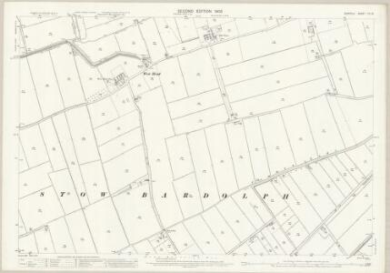 Norfolk LVI.16 (includes: Downham West; Marshland St James; Stow Bardolph; Wiggenhall St Mary Magdalen) - 25 Inch Map