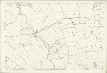 Denbighshire XLIII.8 (includes: Llanrhaeadr Ym Mochnant) - 25 Inch Map
