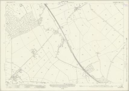 Oxfordshire XX.13 (includes: Ascott under Wychwood; Bruern; Lyneham; Milton Under Wychwood; Shipton Under Wychwood) - 25 Inch Map