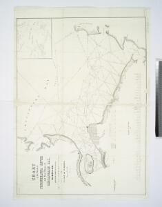 Chart of the mouth of Susquehanna River and head waters of Chesapeake Bay, Maryland / surveyed by order of Congress, under the direction of G.W. Hughes, U.S. Civil Engineer, by T.J. Lee and C.N. Hagner ; drawn by T.J. Lee, 1836.