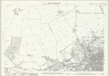 Lincolnshire XLVIII.13 (includes: Hallington; Louth; South Elkington) - 25 Inch Map