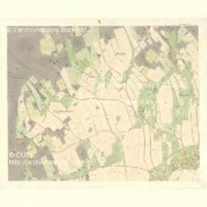 Sponau (Spalow) - m2820-1-004 - Kaiserpflichtexemplar der Landkarten des stabilen Katasters