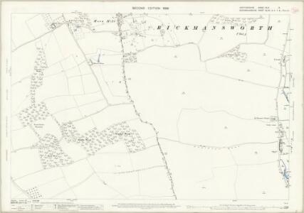 Hertfordshire XLIII.14 (includes: Chalfont St Peter; Rickmansworth Urban) - 25 Inch Map