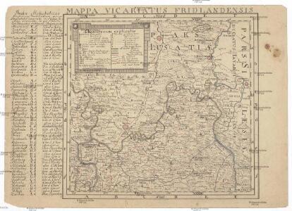 Mappa vicariatus Fridlandensis