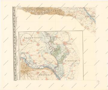 A Dunavölgy Átnézeti Térképe, Carte d ́ensemble del la Vallée du Danube XVII.