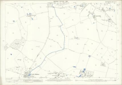 Hertfordshire XXII.4 (includes: Albury; Little Hadham) - 25 Inch Map