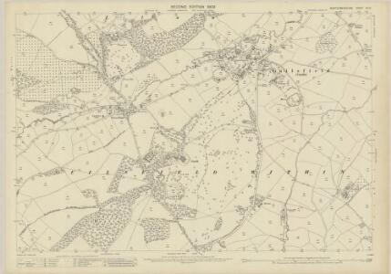 Montgomeryshire XV.15 (includes: Guilsfield) - 25 Inch Map