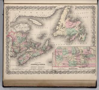 Southeast Canada.