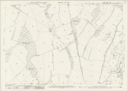 Surrey XXI.13 (includes: Chelsham; Orpington; Titsey) - 25 Inch Map