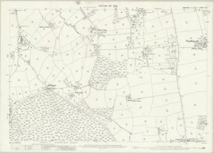 Hampshire and Isle of Wight XC.9 (includes: Calbourne; Cowes; Newport) - 25 Inch Map