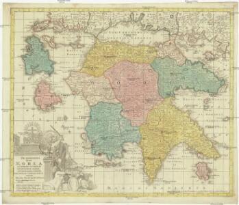 Peloponesus hodie Morea ad normam veterum et recentiorum mappar