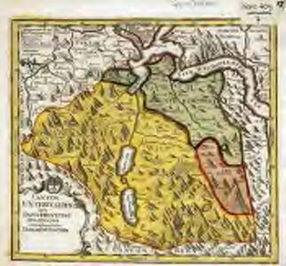 Canton Unterwalden sive pagus Helvetiae Subsilvanus cum adjacentibus terrarum tractibus