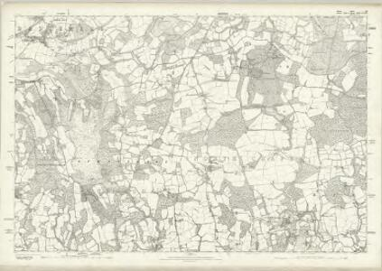 Sussex XI - OS Six-Inch Map