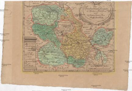Das Fürstenthum Glogau in Nieder-Schlesien nebst der freyen Standes Herrschafft Beuthen