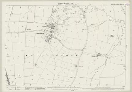 Northamptonshire LII.5 (includes: Collingtree; Courteenhall; Milton Malsor; Quinton; Wootton) - 25 Inch Map