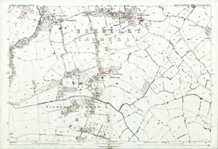 Gloucestershire LXIV.5 (includes: Cromhall; Wickwar) - 25 Inch Map