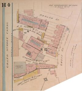 Insurance Plan of London East South East District Vol. H: sheet 4-1