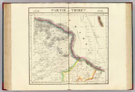 Partie du Thibet. Asie 68.